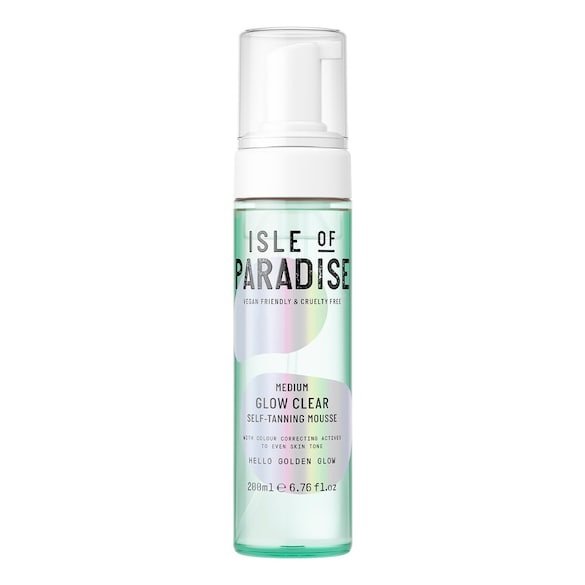Glow Clear Self Tanning Mousse, ISLE OF PARADISE