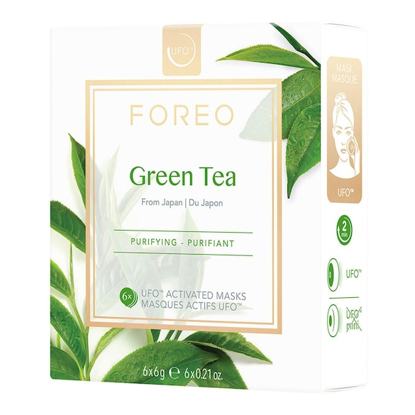 Green Tea UFO-Activated Mask, FOREO