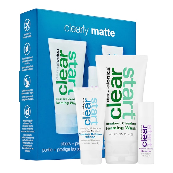 Clearly Matte Skin Kit, CLEAR START