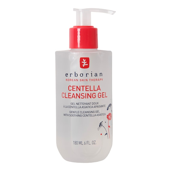 Centella Cleansing Gel - Gentle cleansing gel with soothing Centella Asiatica, ERBORIAN