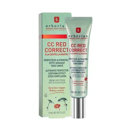 CC Red Correct - Automatic Perfector Soothink effect even complexion Travel size