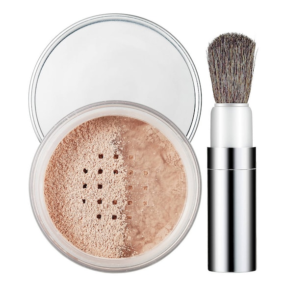 Blended Face Powder and Brush, CLINIQUE